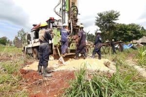 The Water Project: Kaitabahuma I Community -  Drillinig