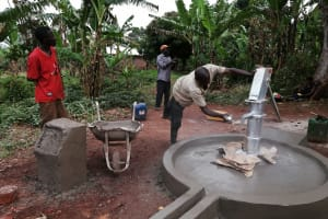 The Water Project: Kabo Village -  Coating For Pedastal