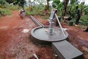 The Water Project: Kabo Village -  Completed Well