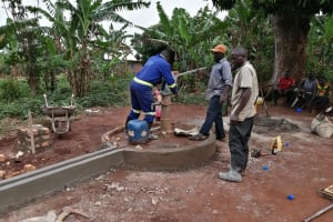 The Water Project: Kabo Village -  Installing New Pump