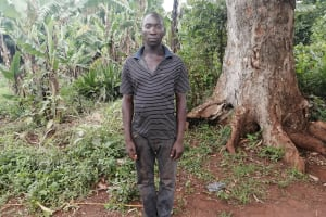 The Water Project: Kabo Village -  Kenneth Isingoma