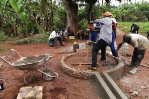 The Water Project: Kabo Village -  New Well Installation