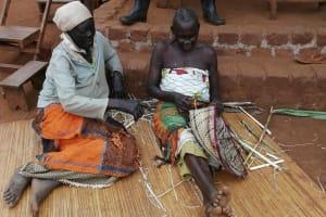 The Water Project: Marongo-Kahembe Community -  Basket Weaving