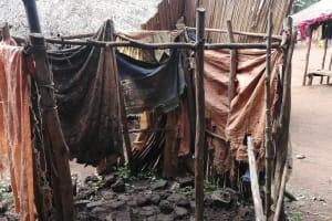 The Water Project: Marongo-Kahembe Community -  Bathing Shelter