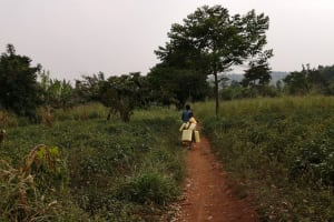 The Water Project: Marongo-Kahembe Community -  Children Walk To Collect Water