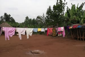The Water Project: Marongo-Kahembe Community -  Clothes Drying