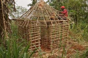 The Water Project: Marongo-Kahembe Community -  House Under Construction