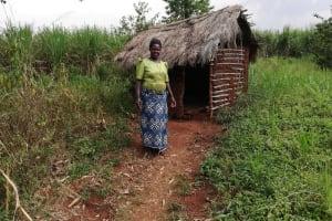 The Water Project: Marongo-Kahembe Community -  New Latrine Under Construction
