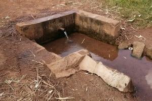 The Water Project: Nsamya Nusaff II Well -  Alternative Water Source