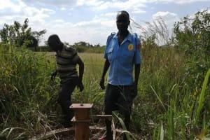 The Water Project: Nsamya Nusaff II Well -  Brokendown Well