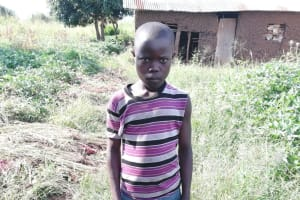 The Water Project: Nsamya Nusaff II Well -  Fred