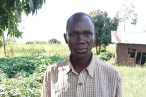 The Water Project: Nsamya Nusaff II Well -  Geofrey Opio