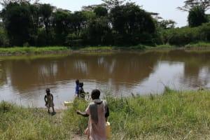 The Water Project: Rwenziramire Community -  Open Water Source