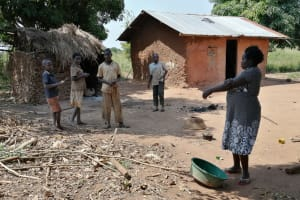 The Water Project: Rwenziramire Community -  People At Their Home