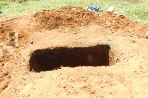 The Water Project: Eshimuli Primary School -  Vip Latrine Hole