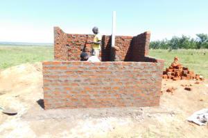 The Water Project: Eshimuli Primary School -  Latrine Construction