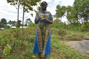 The Water Project: Silungai B Community, Tali Saya Spring -  Sarah Saya