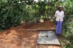 The Water Project: Mahira Community, Mukalama Spring -  Posing By The Sanplats