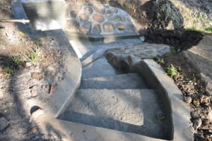 The Water Project: Shianda Township Community, Olingo Spring -  Easier And Safer Stair Access