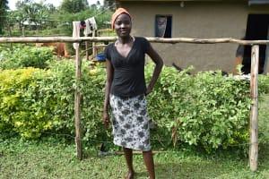 The Water Project: Mukhungula Community, Mulongo Spring -  Margret