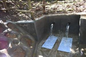 The Water Project: Kimang'eti Community, Kimang'eti Spring -  Gushing Water
