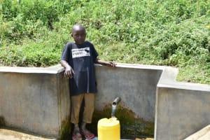 The Water Project: Tumaini Community, Ndombi Spring -  Noah