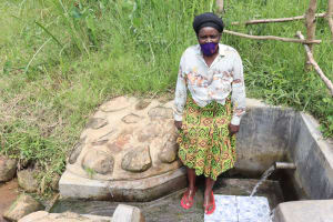 The Water Project: Emurumba Community, Makokha Spring -  Grace Aswani