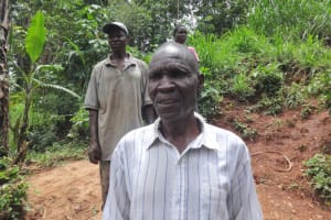 The Water Project: Shihome Community, Peter Majoni Spring -  Mr Peter Were Water User Committee Chair At The Training