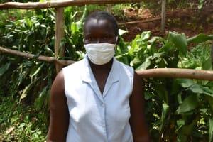 The Water Project: Imusutsu Community, Ikosangwa Spring -  Kenya Ruth Kagai
