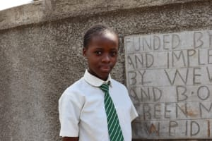 The Water Project: Green Mount Primary School -  Miss Stephanie Oundo