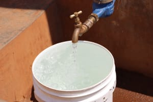 The Water Project: Green Mount Primary School -  Water Flowing From The Tap
