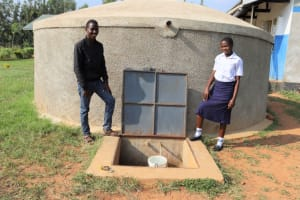 The Water Project: Namasanda Secondary School -  Umina With Field Officer Ian