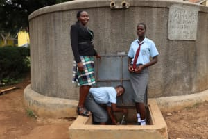 The Water Project: Koitabut Secondary School -  At The Water Tank