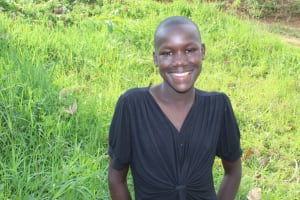The Water Project: Musango Community, Ndalusia Spring -  Portrait Of Gentrix Mulunga