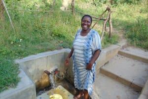 The Water Project: Mukoko Community, Mshimuli Spring -  Emily Vihenda