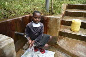 The Water Project: Bukhakunga Community, Mukomari Spring -  Adasia At The Water Point