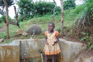 The Water Project: Musango Community, Mwichinga Spring -  Making A Splash