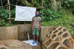 The Water Project: Kambiri Community, Sachita Spring -  Elvis At The Spring