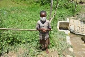 The Water Project: Sambaka Community, Sambaka Spring -  Eveline
