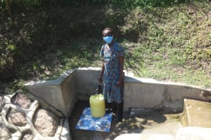 The Water Project: Eshikhugula Community, Shaban Opuka Spring -  Rebecca Barasa