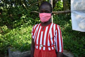 The Water Project: Bukhaywa Community, Ashikhanga Spring -  Portrait Of Melissa Lumumba