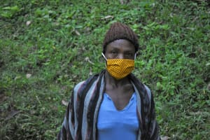 The Water Project: Bumira Community, Imbwaga Spring -  Gertrude Madegwa