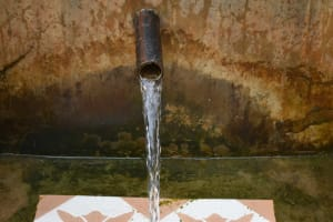 The Water Project: Masuveni Community, Masuveni Spring -  Clean Water Flows