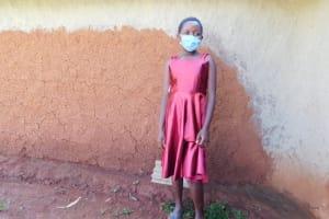 The Water Project: Shikhombero Community, Atondola Spring -  Metrine Masked Up