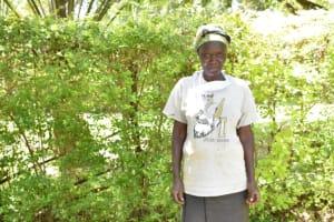 The Water Project: Shianda Township Community, Olingo Spring -  Hamida Osimbo Water User Committee Secretary