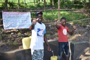 The Water Project: Shianda Township Community, Olingo Spring -  Thank You