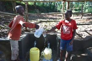 The Water Project: Kimang'eti Community, Kimang'eti Spring -  Cheers