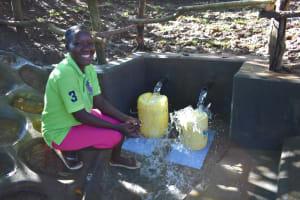 The Water Project: Kimang'eti Community, Kimang'eti Spring -  Redepmta At The Spring