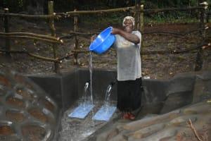 The Water Project: Kimang'eti Community, Kimang'eti Spring -  Water Celebration