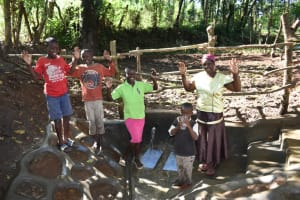 The Water Project: Kimang'eti Community, Kimang'eti Spring -  Celebrating The Spring